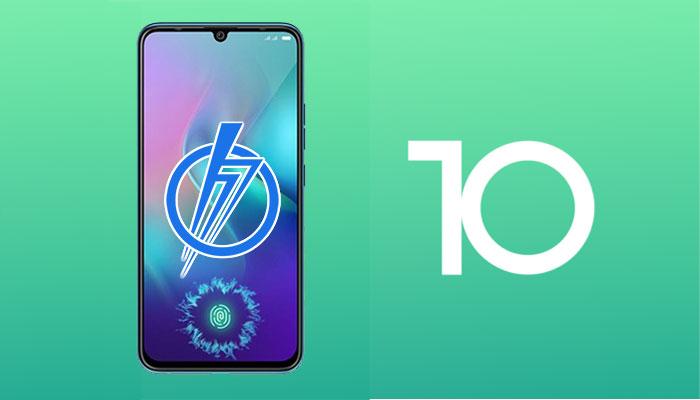 Android 10 for Tecno Phantom 9