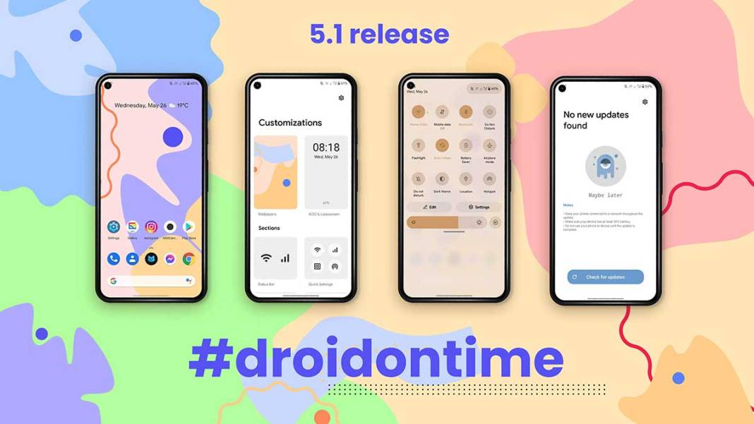 DotOS 5.1 Android 12 ROM