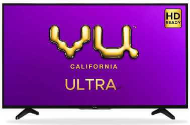 Vu 32 inches is one of the cheap best smart TV in India