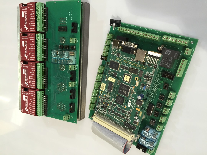 Nextmove ES motherboard and io