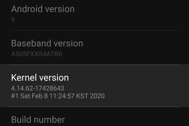 Kernel-Version-In-Android-Phone