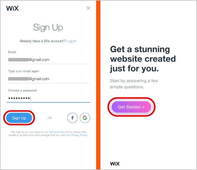 Wix-Registration