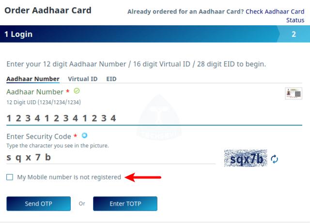 Enter-Your-Aadhaar-Number