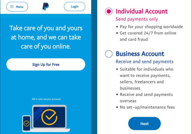 SignUp-For-Paypal-Account