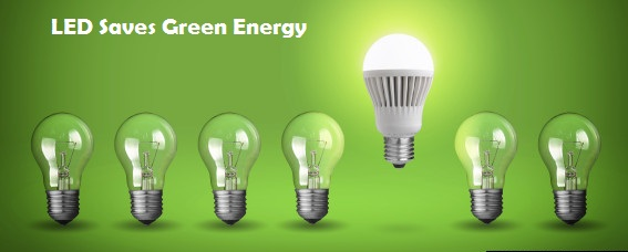Led Bulbs Saves Green Energy