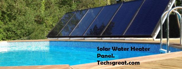 Solar Water Heater. Green Energy
