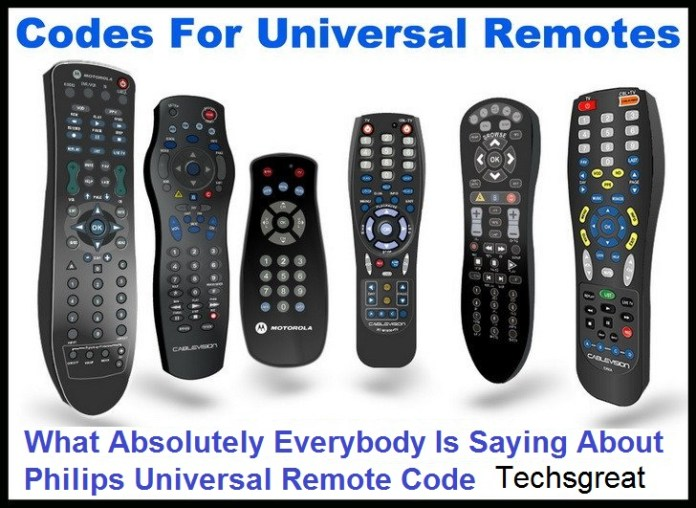 Philips Universal Remote