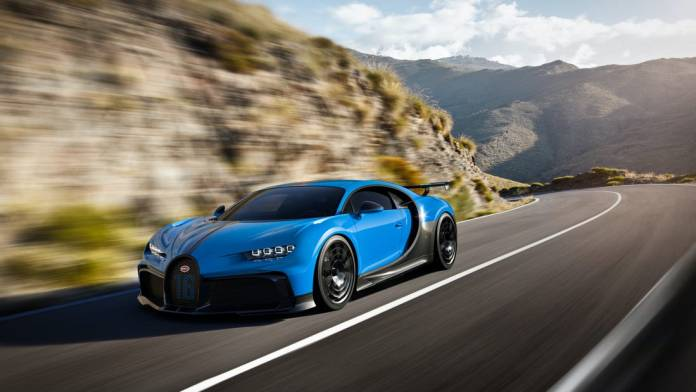 Bugatti Chiron super sport - Fastest car in the world