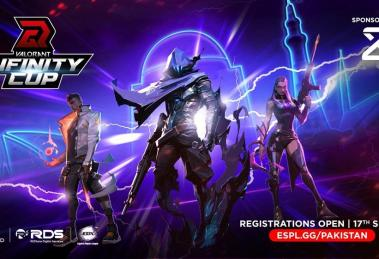 GameRED powered by REDtone Digital Services announces its Valorant Infinity Cup for players across Pakistan