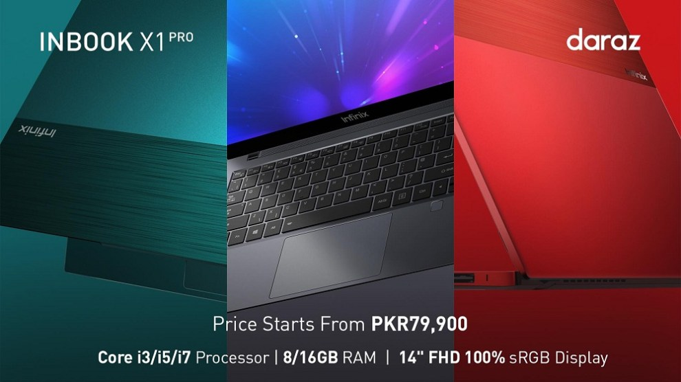 """Get ready to """"Be Light"""", Infinix INBook X1 series announced in Pakistan"""