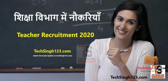 KAU Recruitment 2020-2021 Kerala Agricultural University Recruitment 2020