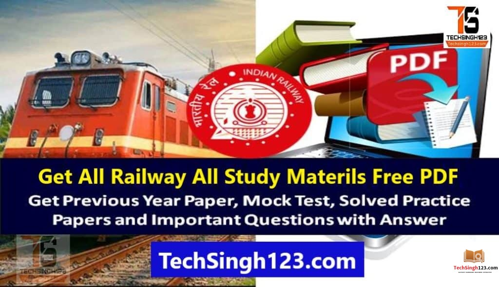 Railway Previous Year Exam Question Paper PDF