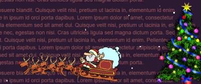 Christmas jQuery animation