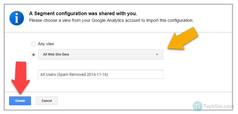 Google Analytics view