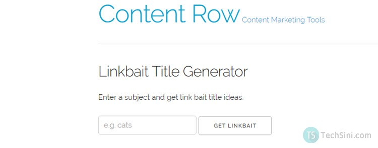 Linkbait Title Generator