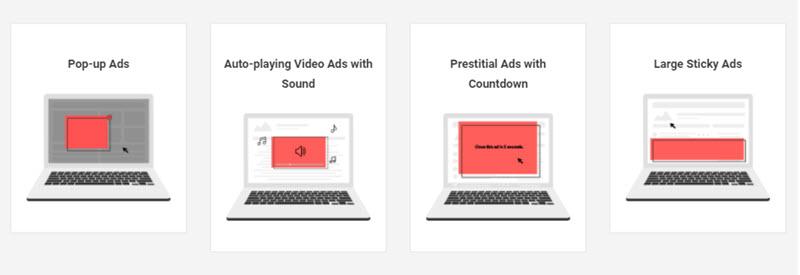 Better ad standards for desktop