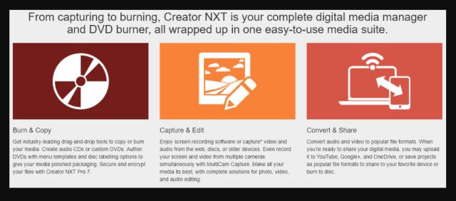 New inRoxio Creator NXT 7