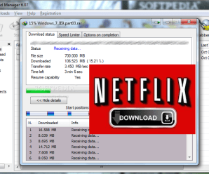How to Download Movies from Netflix using IDM