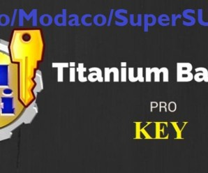Titanium Backup Root v8.2.0 {Pro/Modaco/SuperSU-Mod}