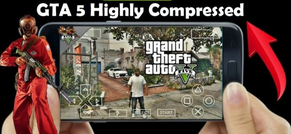 GTA 5 PPSSPP iso zip file for Android