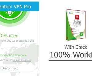 Avira Phantom VPN Pro Updated Full Crack 2019