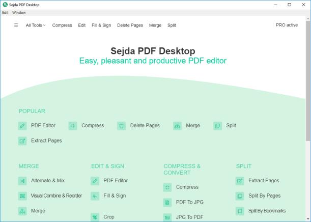 How To Install & Registered Sejda PDF Desktop Pro