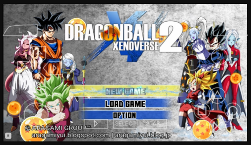 dragon ball xenoverse 2 ppsspp game