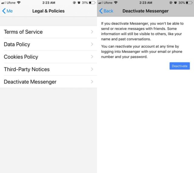 How to Delete Messenger Account on Android/iPhone/iPad
