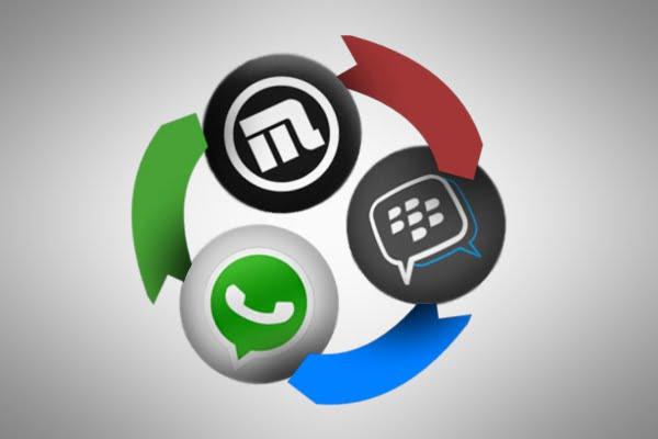 2go chat messenger vs WhatsApp chat messenger
