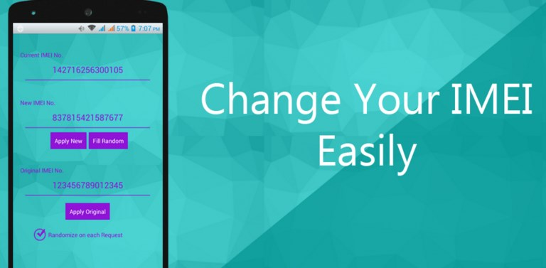 How to change android phone IMEI