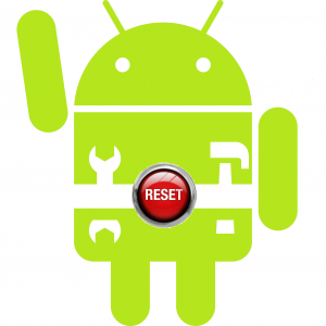 factory data reset android