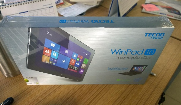 Tecno winpad 10 tablet boxing