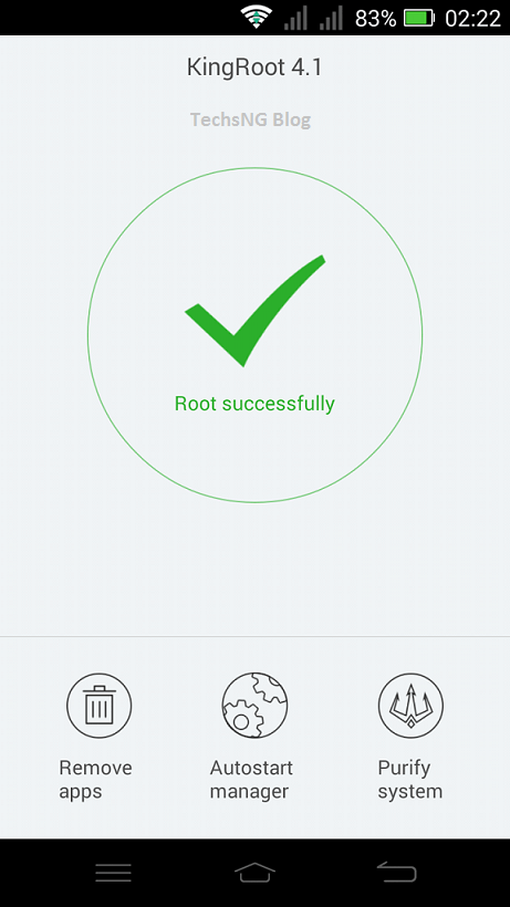 rooted infinix x509 phone