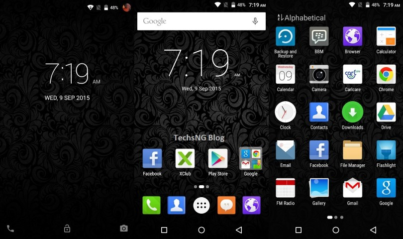infinix zero 2 lollipop interface