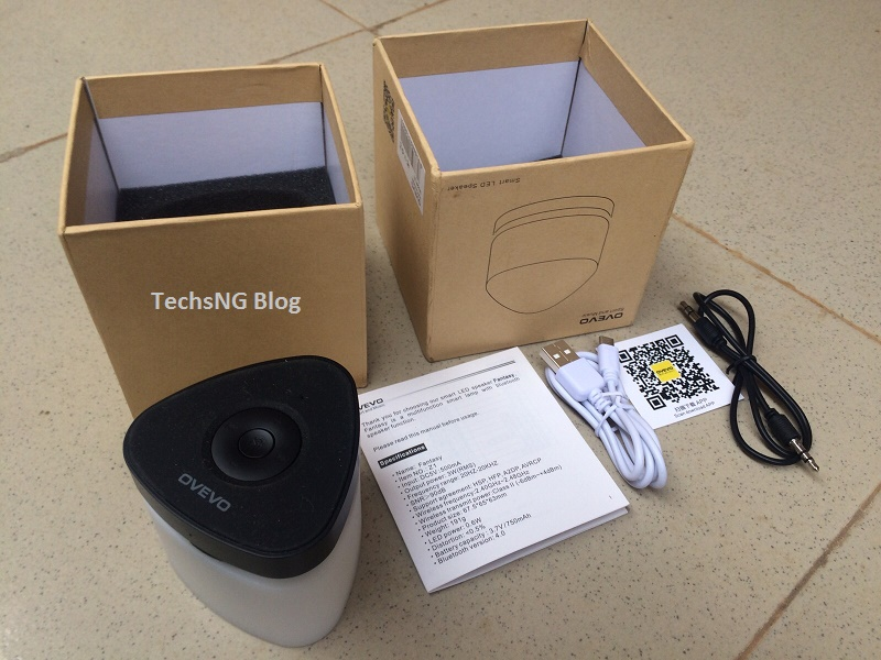 ovevo smart bluetooth unboxed