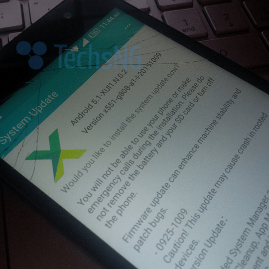 infinix hot note lollipop update