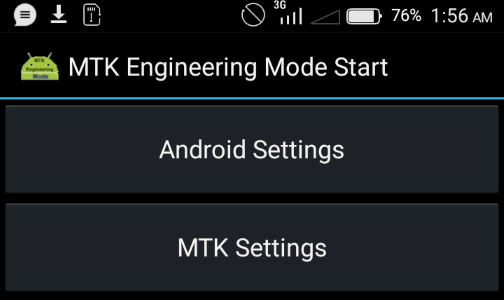 MTK engineering mode imei change