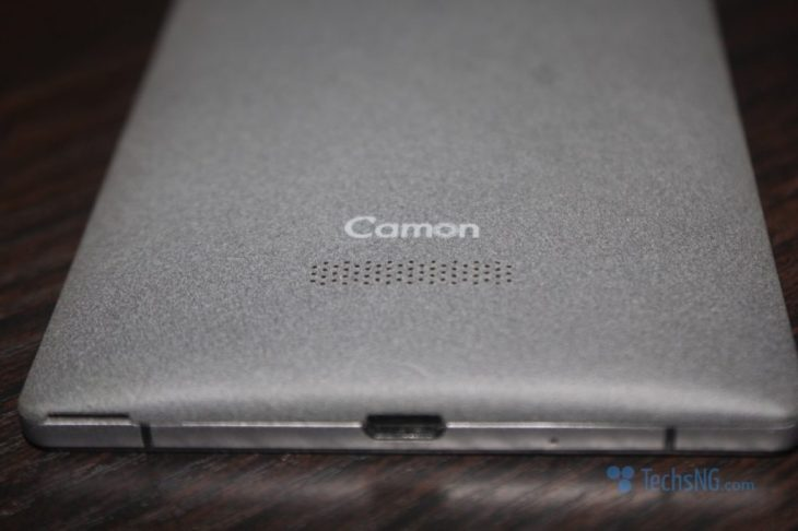 tecno camon c9 loudspeaker placement