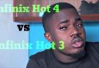 infinix hot 4 vs infinix hot 3 difference and similarities