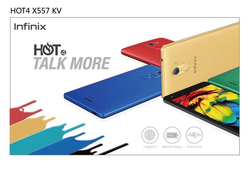 infinix hot 4 x551 smartphone