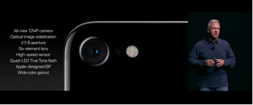 iPhone 7 and 7 Plus camera specs
