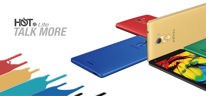 Infinix Hot 4 Lite specifications, features and price in Nigeria