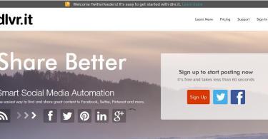 dlvr.it auto social sharing tool