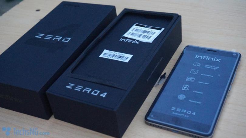 infinix zero 4 x555 unboxing