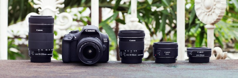 camera and lenses as christmas gift for tech savvy boyfriend