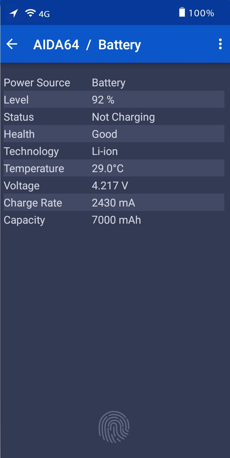 UMIDIGI Z2 battery capacity
