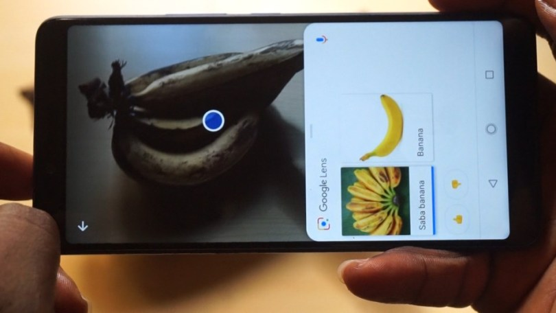google lens feature on infinix note 5