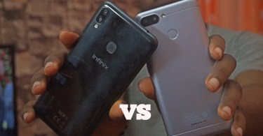 Infinix hot s3x vs xiaomi redmi 6 fingerprint test