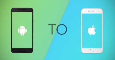 How to copy contacts from android to iPhone
