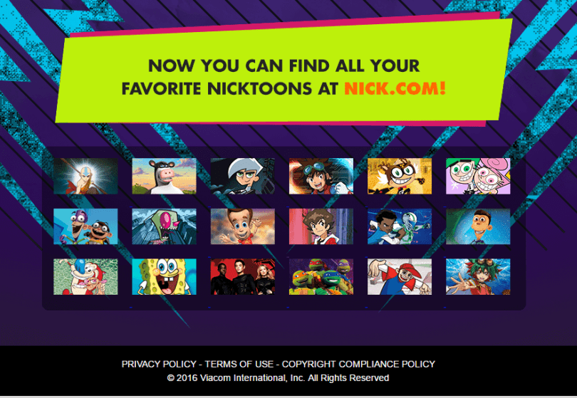 nick toons by nickolodeon